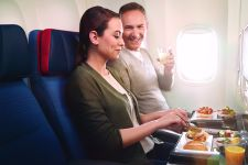 Economy class Turkish Airlines