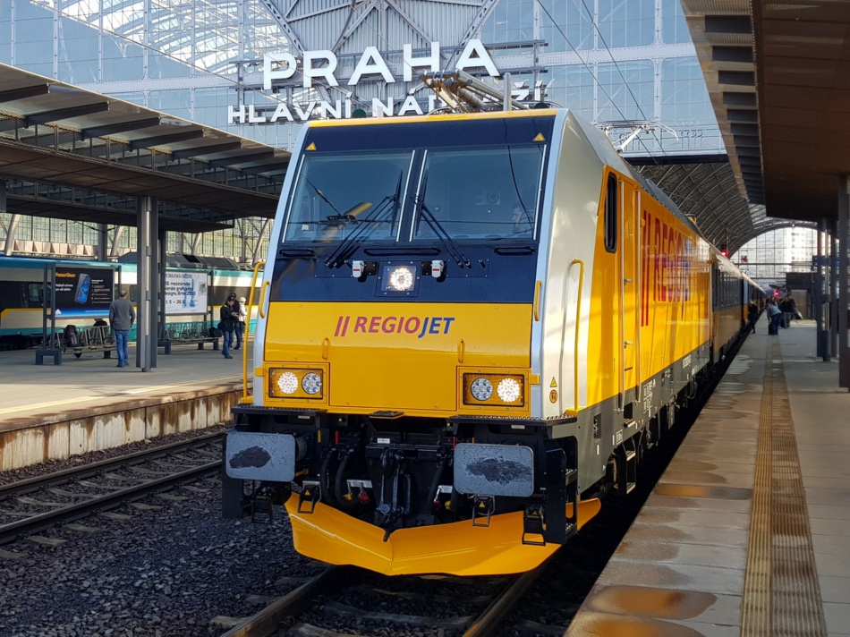 TRAXX Praha hl. n.