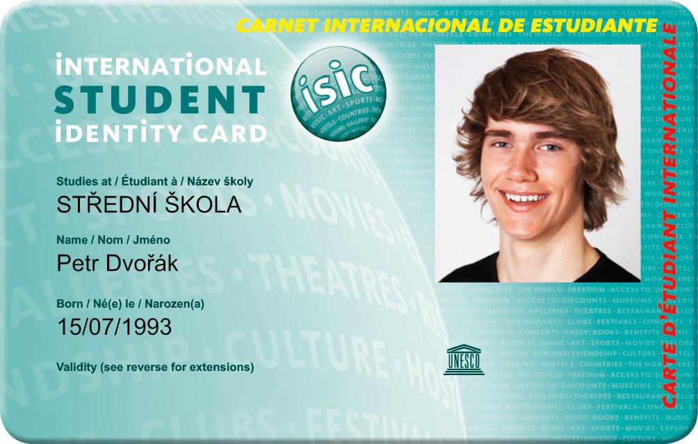 Student Agency Slevove Karty Isic Iytc Itic
